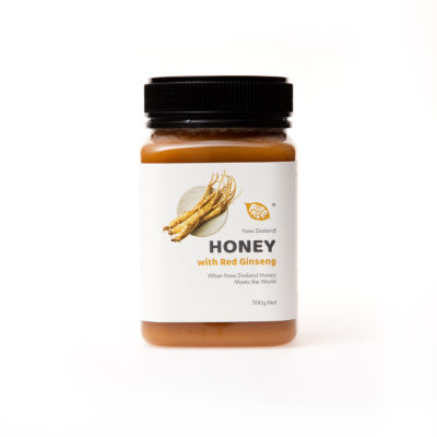 Honey with Red Ginseng 500g
